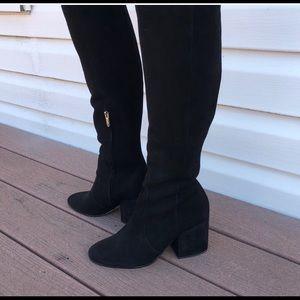 Sam Edelman knee high boots chunky heel